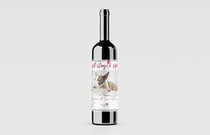 HSTB Custom Wine Bottle